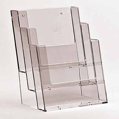 A4 Leaflet Holder 3 tier