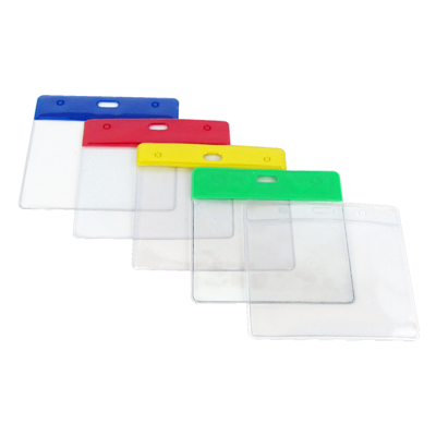 Plastic ID Badge holder Pack of 5