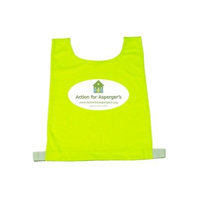 Budget Child Tabard Yellow (with print)